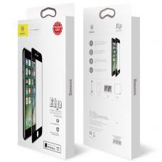 Защитное стекло на весь экран Baseus Arc-surface 0.3mm для iPhone 7 Белое