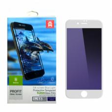Защитное стекло Baseus Silk Screen Printed с силиконовым бортом 0.2mm для iPhone 7 Белый