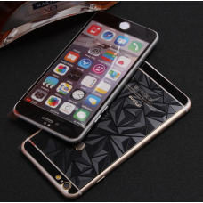 Защитные стекла Алмаз для дисплея и корпуса 2в1 для iPhone 8 Plus Черное