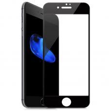 Защитное бронь стекло 9D Anti Blue Ray на iPhone 6 Plus, 6s Plus с Черной рамкой