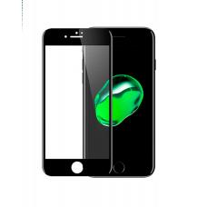 Защитное стекло Remax Curved 3D на весь экран + чехол для iPhone 8 Plus с Черной рамкой