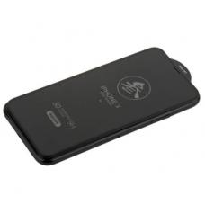 Защитное стекло 3D REMAX Medicine GL-27 для iPhone XR c Черной рамкой