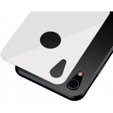 Защитное стекло заднее Baseus 0.3mm для корпуса iPhone XR Белого цвета