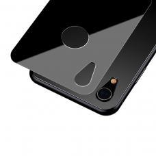 Защитное стекло заднее Baseus 0.3mm для корпуса iPhone XR Черного цвета