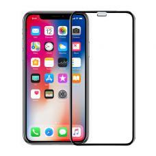 Защитное стекло 3D HOCO для iPhone XR с Черной рамкой