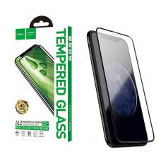 Защитное стекло 3D HOCO с усиленным краем для iPhone 11 Pro Max с Черной рамкой
