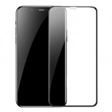 Защитное стекло Baseus 3D для iPhone Xs с Черной рамкой