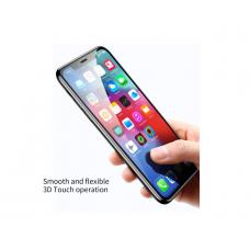 Защитное стекло Baseus Protector Anti Blue Ray 0.3mm для iPhone 11 Pro с Черной рамкой