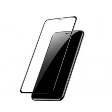 Защитное стекло Baseus Protector Anti Blue Ray 0.3mm для iPhone 11 с Черной рамкой