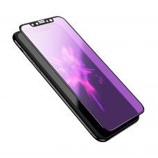 Защитное стекло HOCO Anti Blue Ray для iPhone 11 с Черной рамкой