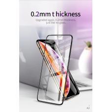 Защитное стекло HOCO SHARKS Anti Blue Ray для iPhone Xs c Черной рамкой