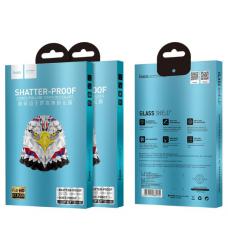 Защитное стекло HOCO SHATER PRoogs для iPhone 11 с Черной рамкой