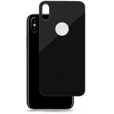 Защитное стекло заднее Baseus 0.3mm для iPhone Xs Черного цвета