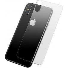 Защитное стекло заднее Baseus 0.3mm для iPhone Xs Прозрачное