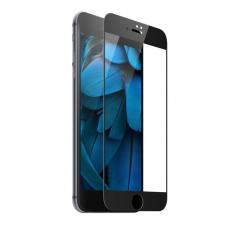 Защитное противоударное бронь стекло 10D для iPhone 7/8 черного цвета