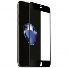 Защитное бронь стекло 6D для iPhone 6 Plus/6S Plus черного цвета
