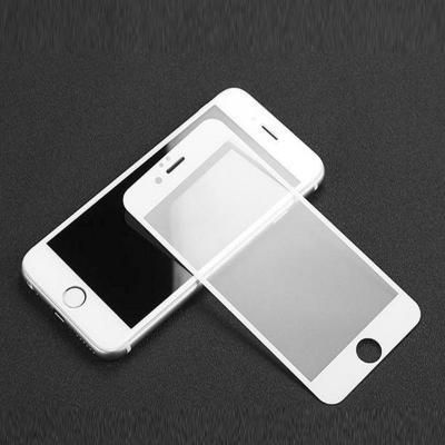 Защитное бронь стекло 6D для iPhone 6/6s белого цвета