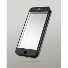 Защитное бронь стекло 6D для iPhone 6/6s черного цвета