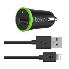 Belkin АЗУ 10W и кабель 1,2m lightning 8 pin Черного цвета