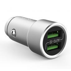 Автомобильное зарядное устройство LDNIO C302 3.6А с кабелем Micro USB на 2 USB выхода
