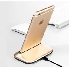 Док-станция Desktop Charging station для iPhone Золотого цвета