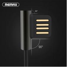 Кабель Micro USB 1м Remax Emperor RC-054m 2.1A Черного цвета