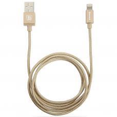 Кабель Lightning Baseus 100 см Simple Version Of Antila Series MFi Cable Золотого цвета