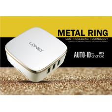 Сетевое зарядное устройство LDNIO на 3 USB 7A A6704