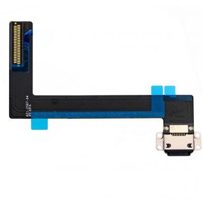 Нижний системный разъем iPad Air 2 Черный (Black)