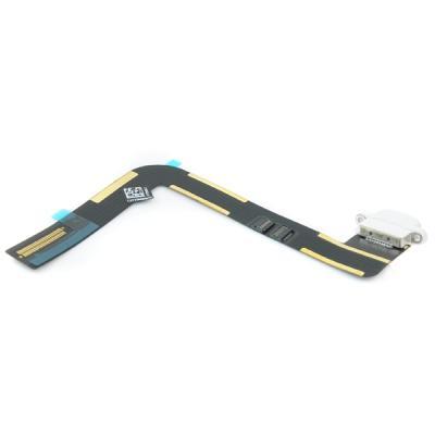 Системный нижний шлейф порта зарядки iPad Air Белый (White), оригинал