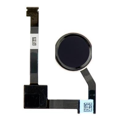 Шлейф кнопки Хом с толкателем для iPad Pro 12,9 дюйма Черный