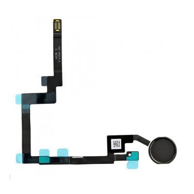 Шлейф кнопки Hоme с толкателем для iPad mini 3 Retina Черный