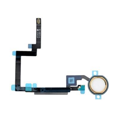 Шлейф кнопки Hоme с толкателем для iPad mini 3 Retina Золотой