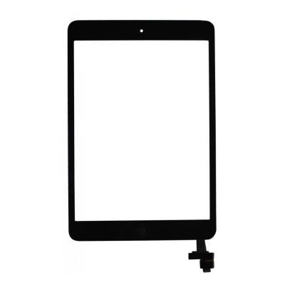 Сенсорное стекло в сборе для iPad mini 3 Retina Черное Копия
