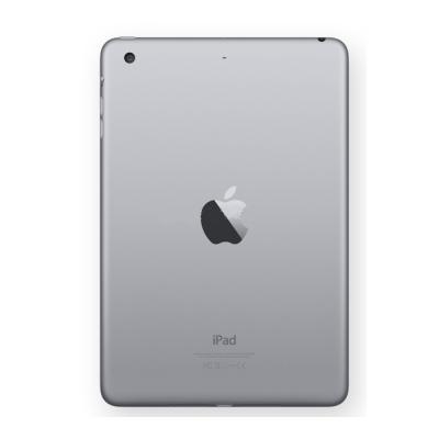 Задняя крышка для iPad mini 3 Retina модель Wi-Fi Черная Оригинал