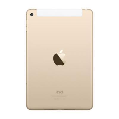 Задняя крышка для iPad mini 4 Retina только с Wi-Fi Золотая Оригинал