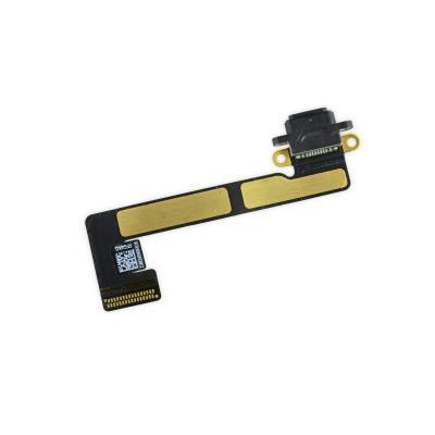 Нижний шлейф порта зарядки Lightning для iPad mini 2/3 черного цвета