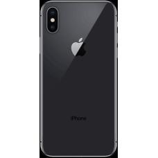 Задняя крышка для iPhone 10 Черная (Black) оригинал