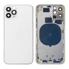 Корпус цельный с рамкой для iPhone 11 Pro Белого цвета