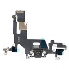 Системный шлейф порта зарядки для iPhone 11 Черного цвета