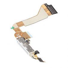 Шлейф порта зарядки/синхронизации iPhone 4 Белый оригинал