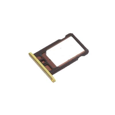 Лоток сим-карты iPhone 5C (желтый) оригинал