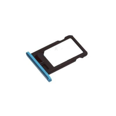 Лоток сим-карты iPhone 5C Синий, оригинал