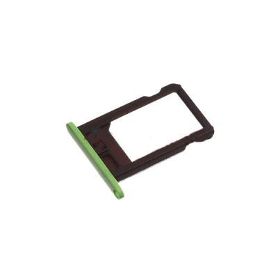 Лоток сим-карты iPhone 5C (зеленый) оригинал