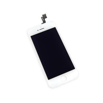 Модуль для iPhone 5S в сборе со стеклом Белый AAA+ \ Hybrid SCA