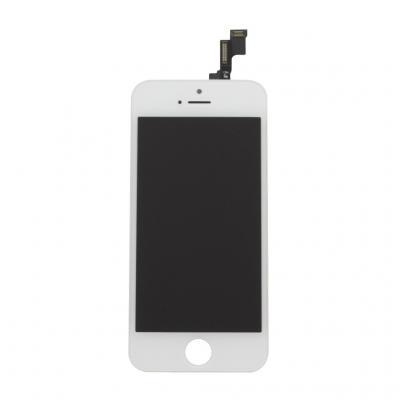 Дисплей iPhone 5S в сборе со стеклом Белый OEM оригинал