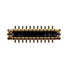 Разъем-коннектор дисплея на плату iPhone 5S, Оригинал