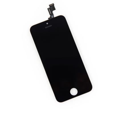 Модуль для iPhone 5S в сборе со стеклом Черный AAA+ \ Hybrid SCA