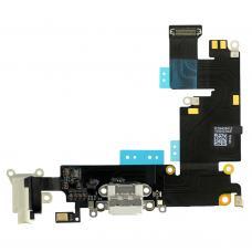 Нижний шлейф для iPhone 6 Plus Gold золотой оригинал