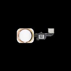 Кнопка Home в сборе для iPhone 6S розовая (pink gold)